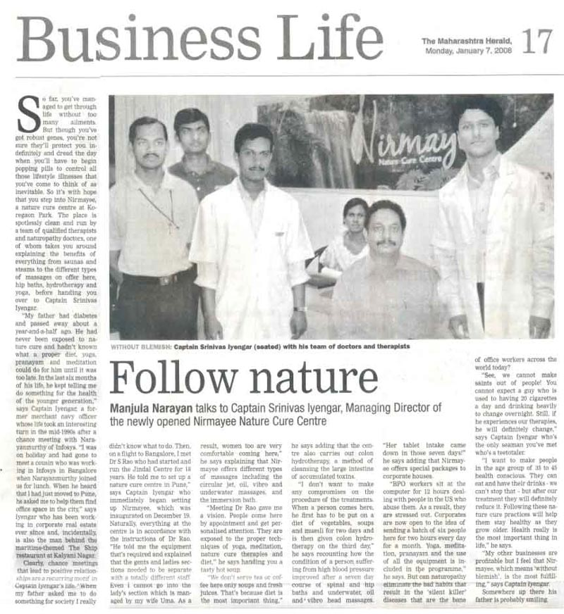 follow nature article