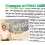 Nirmayee article