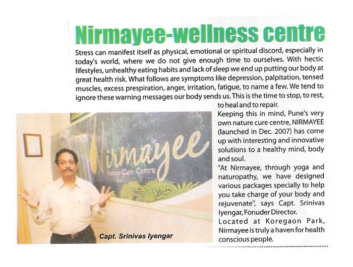 Nirmayee article