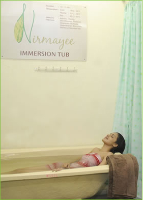 immersion tub